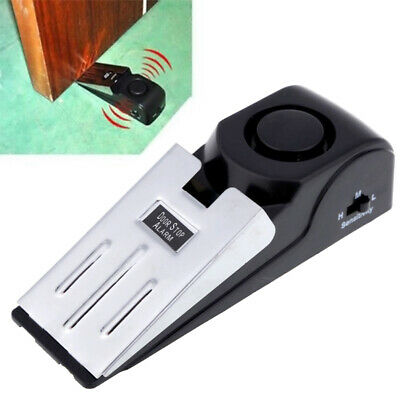 Door Stop Alarm Wireless Home Travel Security Portable System Safety Wedge Alert