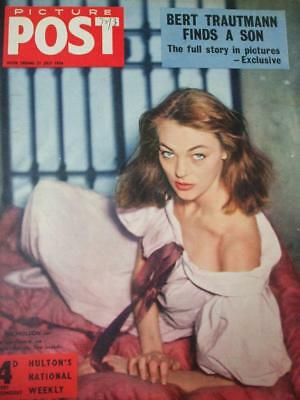 Picture Post Magazine Adverts 1956 Ivy Nicholson Andria Loran