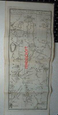 1776 Taylor & Skinner - Road from Glasgow to Paisley, Bieth & Kilwinning