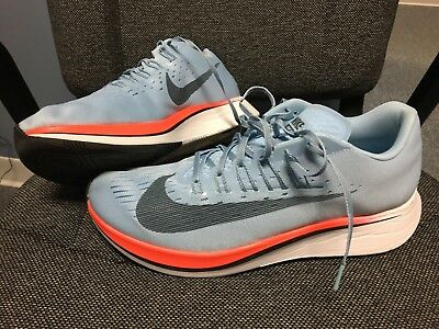 info for 9a52c 6c48f Nike Zoom Fly 880848-401 Ice Blue Fox Crimson Red Running Shoes Men s Size  11