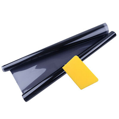 50cmx6m Black Glass Window Tint Shade Film VLT 35% Auto Car Home Office Roll