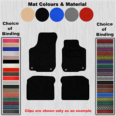 Tailored Velour Floor Mats For Vw Beetle To 1999-2005 / Golf Mk4 (4-Clips)