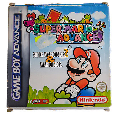 Game Boy Advance OVP Super Mario Advance Akzeptabler Zustand!
