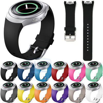 Classic Replacement Silicone Watch Band Strap for Samsung Galaxy Gear S2 SM-R720