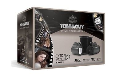 Toni & Guy Salon Professional Extreme Volume Rollers - 10 Large/Medium Rollers