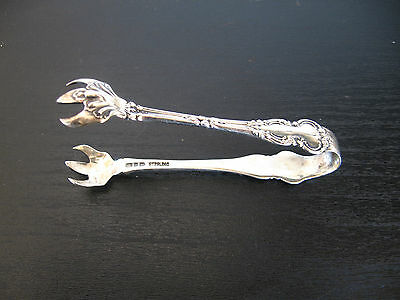 Vtg Sterling Silver Sugar Cube Tongs Ryrie?