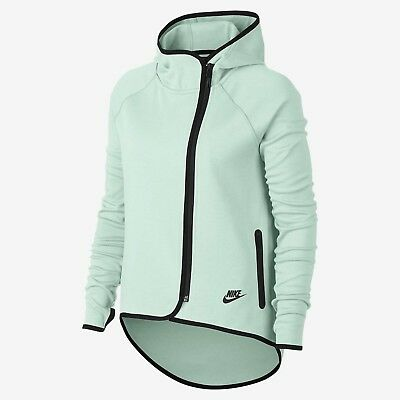 520c3bc0a1f1 Nike Wmns NSW Tech Fleece Cape Hoodie Jacket Women New Barely Grey  908822-006