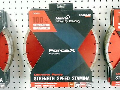 "TOOLPAK DBA300-10 FORCE X 300mm 12"" MULTI MATERIAL DIAMOND BLADE FOR STIHL SAWS"