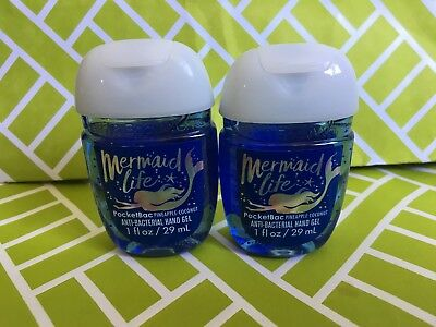 Mermaid Life Pinapple Coconut 2x Bath & Body Works Anti Bacterial Hand Gel