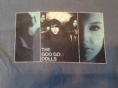 The Goo Goo Dolls 2006 Let Love In Tour T Shirt Tee Blue Alternative Punk Rock S