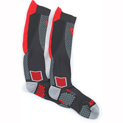 Dainese D-Core High Socks - Red