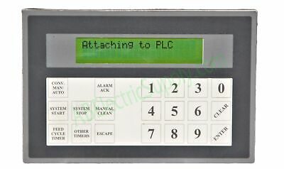 Maple Systems OIT3165-A00 Terminal w 2x20 BL LCD and Keypad