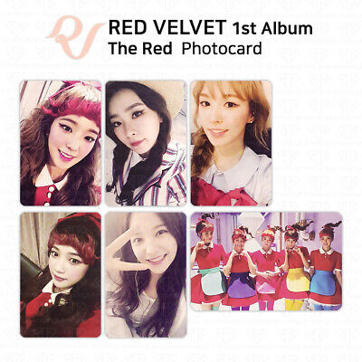 RED VELVET 1st Album THE RED Official Photocard KPOP