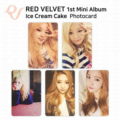 RED VELVET 1st mini album Ice Cream Cake Official Photocard KPOP