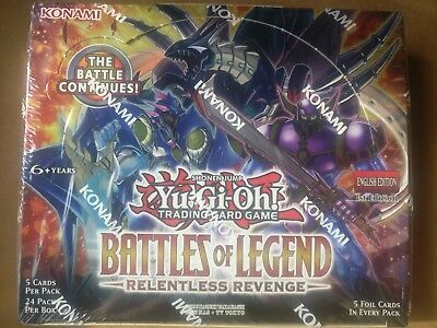 Yu-Gi-Oh Battles of Legend: Relentless Revenge Ultra Rare Cards BLRR