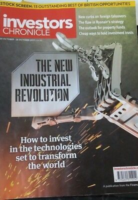 The New Industrial Revolution, Investors Chronicle, 20 - 26 October 2017
