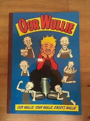 OOR WULLIE ANNUAL 1994 - Retro Comic Annual - Very Good Condition