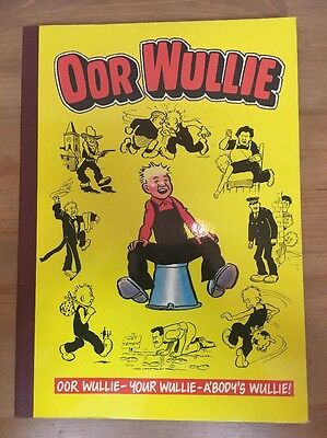 (W5a) OOR WULLIE ANNUAL 1986 - Retro Comic Annual - Very Good Condition