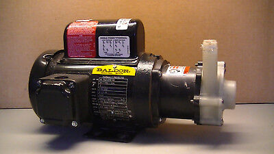 MARCH MAGNETIC DRIVE CHEMICAL PUMP  TE-5C-MD w/Baldor .2hp good used condition