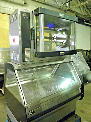 Bki Dr 34 Rotisserie Oven With Ssw4 Hot Food Merchandise Display Case