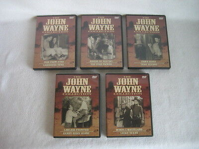 John Wayne Collection - 5 Dvd Set - 10 Full Length Features - Early Westerns