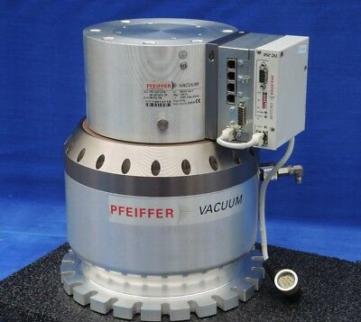 Pfeiffer Vacuum TPH 1201 UPN Turbomolecular Pump Complete with TC750 and TIC 250