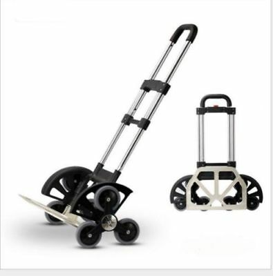 Terrain Stair Climbing Folding Car,Hand Truck,for Moving up to 180 pounds