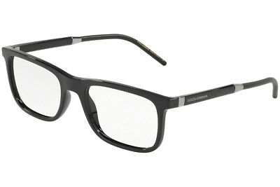 421509fed19 Authentic Dolce   Gabbana Eyeglasses DG5030 501 Black Frame 55mm Rx-ABLE
