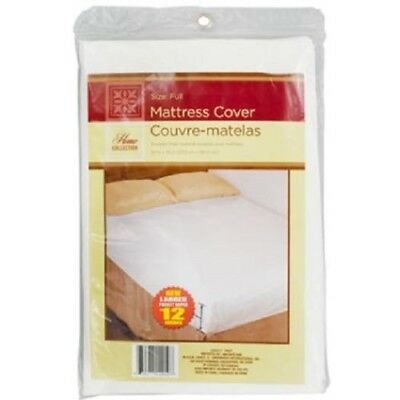 "Full Size Water Proof Fitted Mattress Cover 54"" x 75"" Free Shipping Brand New"