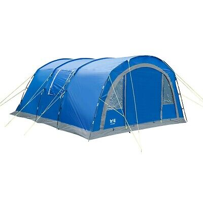 6 Person Family Tunnel Tent 4000mm HH Sewn In Groundsheet Camping Trail Haytor