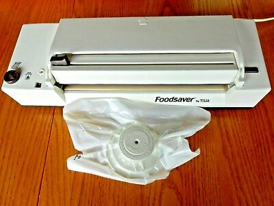 Original Professional Food Saver Tilia Vacuum Sealer Sealing Machine Italy +Box