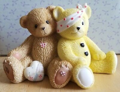 RARE NEW Cherished Teddies - European Exclusive - Terry & Pudsey - 4000665