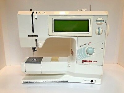 BERNINA 40 INSPIRATION Plus Sewing Machine AS IS FOR PARTS OR Cool Bernina 1630 Sewing Machine Manual