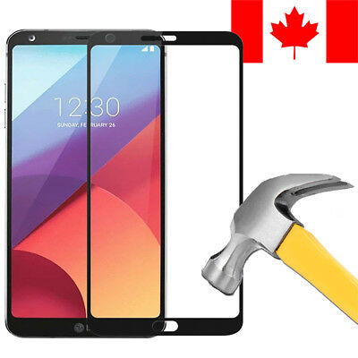 3D Full Cover Tempered Glass Screen Protector For Lg G6