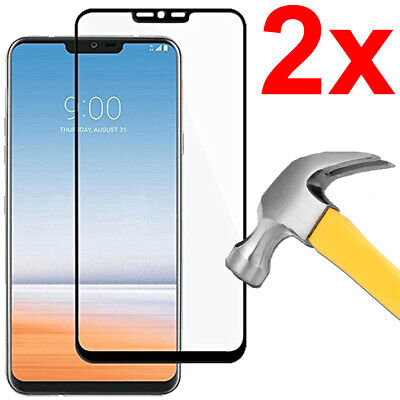 3D Full Cover Tempered Glass Screen Protector For Lg G7 Thinq / G7 One / G7 Fit