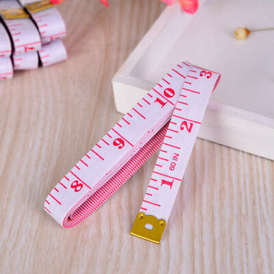 60in/150cm Body Measuring Ruler Sewing Cloth Tailor Tape Measure Soft Ruler 60""