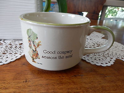 Vintage Holly Hobbie Country Living Soup Mug