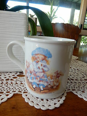 Vintage Holly Hobbie Rare Mug