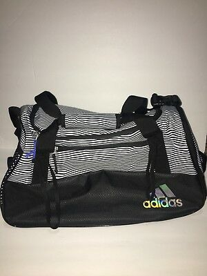 6f2bc21aa354 ADIDAS SQUAD III DUFFEL BAG In Black Womens NEW! 5144003 -  39.99 ...