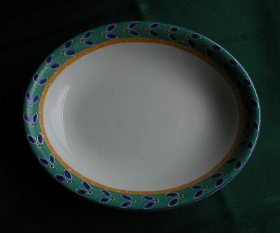 "Royal Doulton Rio China 10 1/4"" Oval Vegetable Serving  Bowl (S)"