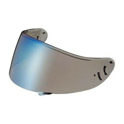Shoei Genuine NXR mirror Blue Visor CWR-1 Pinlock Ready