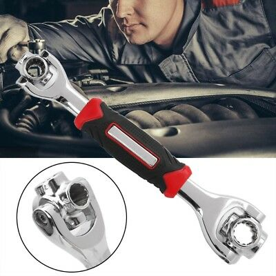 Multifunction 8-19mm 52 In 1 Socket Wrench Spanner Hand Tool Universal Household
