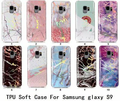 10pcs/lot Laser Marble Shockproof TPU IMD Soft Cover Case For iPhone Samsung LG
