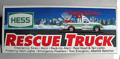 1994 Hess Rescue Truck - An Excellent Gift
