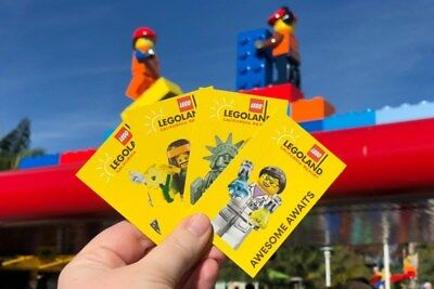 Lego Land Ticket - California
