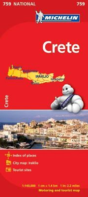 Crete National Map 759 by Michelin