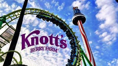 Knotts Berry Farm ticket- General Admission