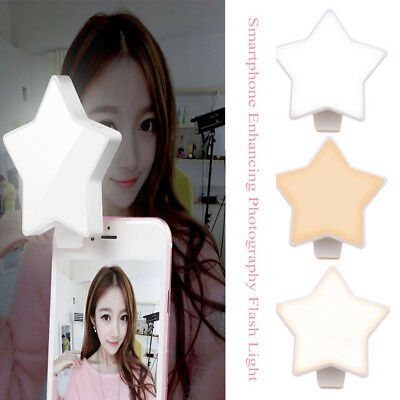 Rechargeable Selfie Light Led Photography Phone Camera Flash F Iphone Android