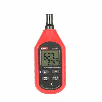 UNI-T UT333BT Bluetooth Mini Digital LCD Air Temperature Humidity Meter Tester H