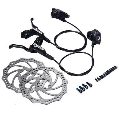 Mountain Bike Hydraulic Disc Brake Set Front /Rear 750/1350mm MTB Oil Brake Disc